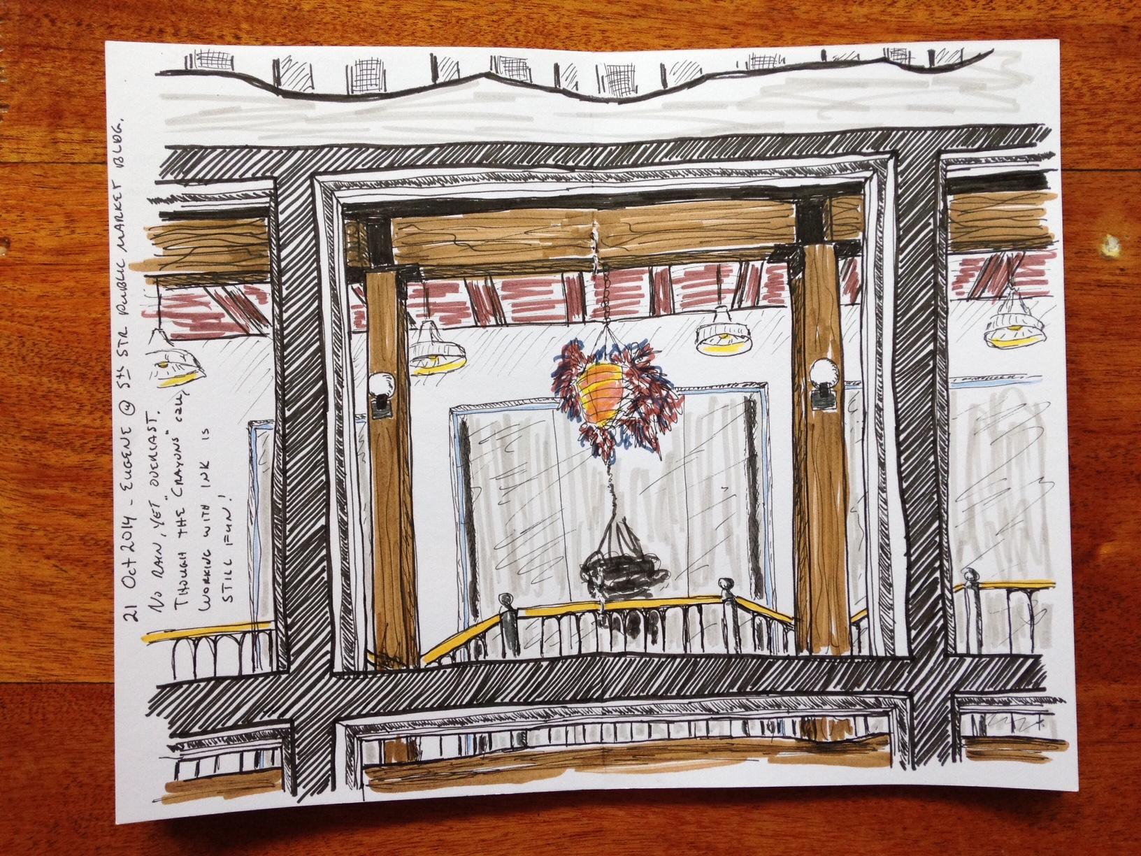 Hugh's sketch