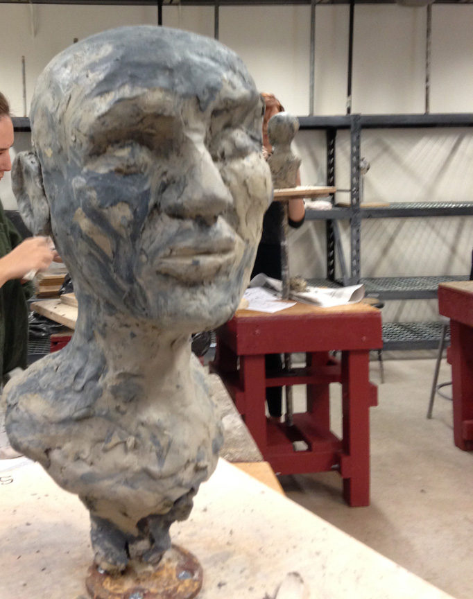 Sandy's head