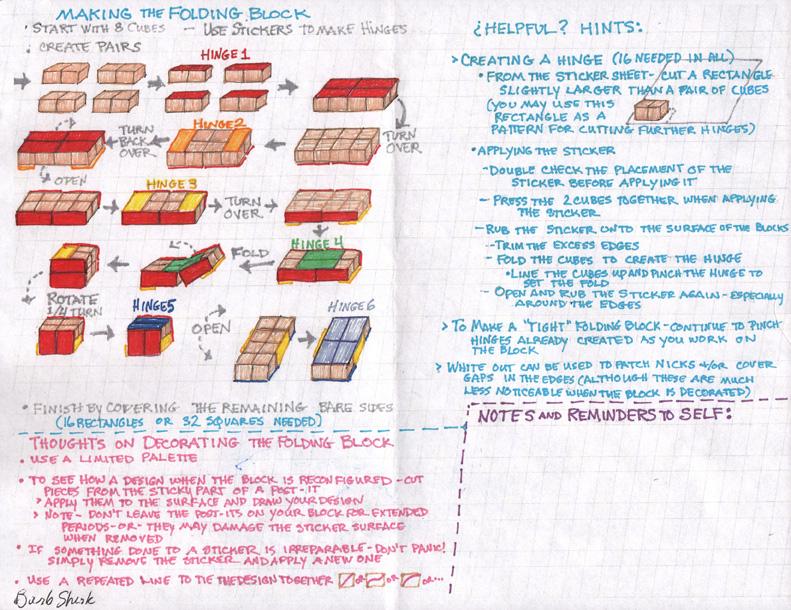 6-folding blocks